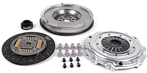 Single Mass Flywheel (APDTY 104233 DMF To SMF Clutch Complete Conversion Kit Dual Mass Flywheel To Single Mass Flywheel) For BMW 3 Series (View Chart For Specific Years & Models))