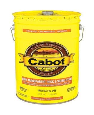 Cabot VOC Semi-Transparent Deck And Siding Exterior Stain ()