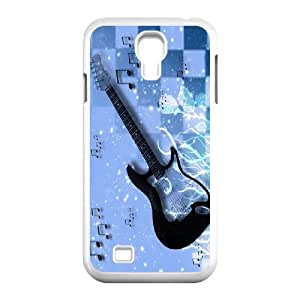 JenneySt Phone CaseLove Music Love Guitar For SamSung Galaxy S4 Case -CASE-4