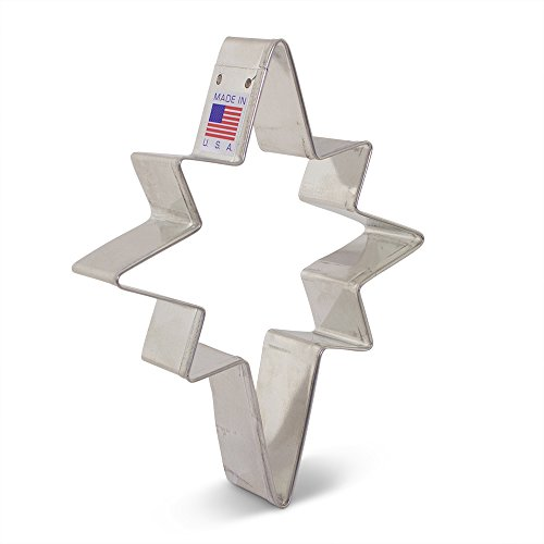 Bethlehem Star Cookie Cutter - 4.75 Inch - Ann Clark - US Tin Plated Steel
