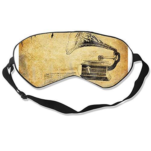 Eye Mask Retro-Tapete Mit Grunge Unique Eyeshade Sleep Mask Soft for Sleeping Travel for -