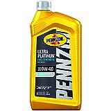 Pennzoil Ultra Platinum Full Synthetic 0W-40 Motor Oil (1-Quart, Case of 6)