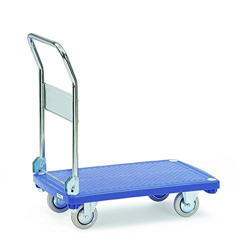Noblelift  mtsa1006Wagen Transport Kunststoff, zusammenklappbar, 200kg Belastung, Durchmesser 125mm, 770mm Länge Rollen x 500mm Breite x 860mm Höhe