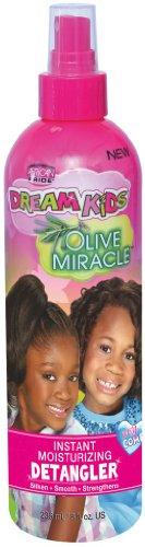 African Pride Dream Kids Detangler Spray 8 oz. (Pack of 2) by African Pride