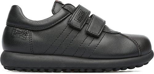 Camper Kids Boys' Pelotas Ariel 80353 Sneaker, Black, 31 EU/13 M US Little Kid