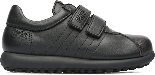 Camper Kids Boys' Pelotas Ariel Kids 80353 Sneaker, Black, 35 EU/3.5 M US Big