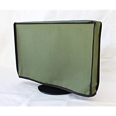 ORIGINAL Outdoor Waterproof Tv Cover SWING ARM MOUNT fits 43  to 52  tv's DESIGN YOURS TODAY (OLIVE, 43-52) led, lcd, plasma, smart tv's