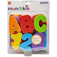 Munchkin letras y números juguetes de baño, 36 Conde
