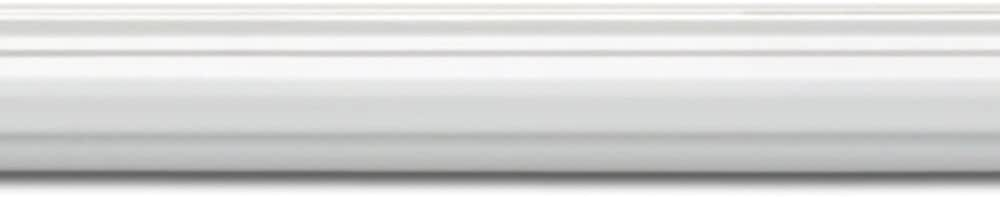 Primed White Focal Point 10590-8 System A Panel Moulding 1 1//2-Inch by 8 Foot by 11//16-Inch