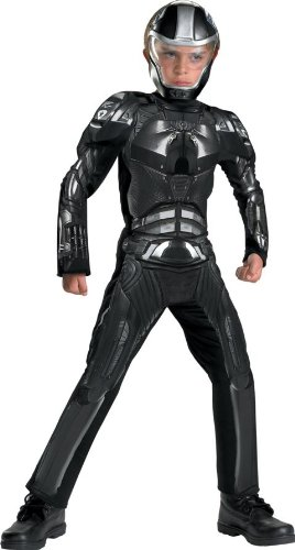Gi Joe Duke Costumes (Disguise DI50370-S Small Boys Deluxe G.i. Joe Muscle Duke Costume)
