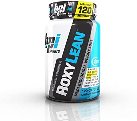 BPI Sports Roxylean Extreme Fat Burner and Weight Loss Supplement