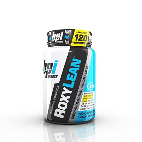 BPI Sports Roxylean Extreme Fat Burner and Weight Loss Supplement, 120 Count , Limited Edition, Larger Size, 4 Month Supply