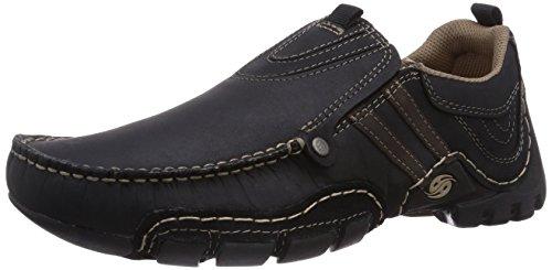 400136 schwarz Hombre schoko Para Gerli Negro By 20ay005 Schwarz 136 Mocasines Dockers q6tzvW