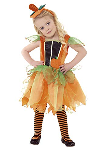 Smiffys Girl's Pumpkin Fairy Costume