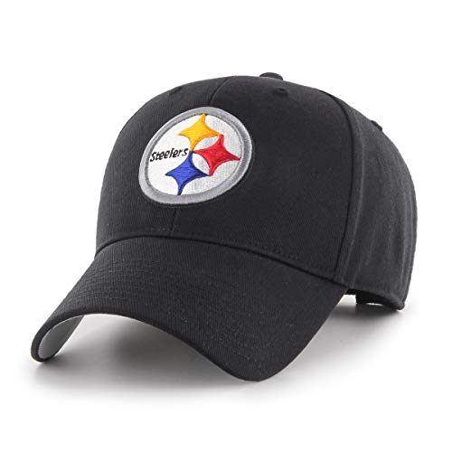 - NFL Pittsburgh Steelers OTS All-Star MVP Adjustable Hat, Black, One Size