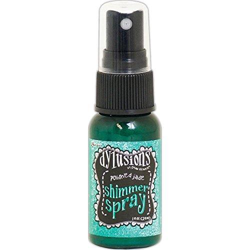 Dyan Reaveley's Dylusions Shimmer Spray 1oz - Polished Jade ()