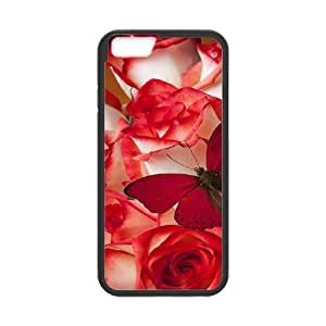 Like fire roses CHA8033903 Phone Back Case Customized Art Print Design Hard Shell Protection IPhone 6 Plus