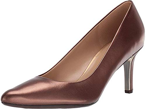 - Naturalizer Women's Natalie Lodge Brown Pearl Leather 10 M US