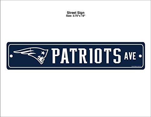 New England Patriots Memorabilia - WinCraft NFL New England Patriots Street Sign