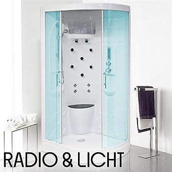 Moderne Duschkabine Duschtempel Luxus Dusche Komplett Radio Amazon