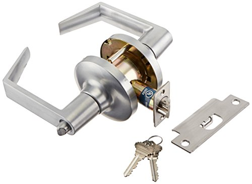 Schlage commercial CL500FLC-26D Commercial Entry Standard GR1 Clarendon Door Lock with Cylinder - Schlage Lock Removable Core