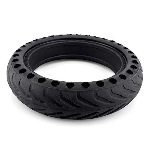 Benficial New for Xiaomi Mijia M365 Electric Scooter Explosion-Proof Tires Wheel Tire Replace No Need to Inflate (Black)