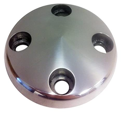 ALUMINUM WATER PUMP PULLEY NOSE Compatible//Replacement for GM CHEVY SB 283-350 LWP POLISHED