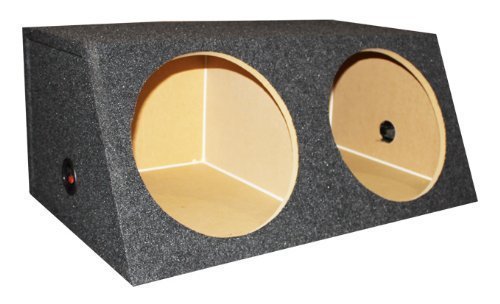 Q Power Small Dual 12-Inch Unloaded (Subwoofer Unloaded Enclosure Box)