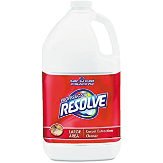 Professional Resolve REC 97161 Carpet Extraction Cleaner, 1 gal Bottle (Pack of 4)