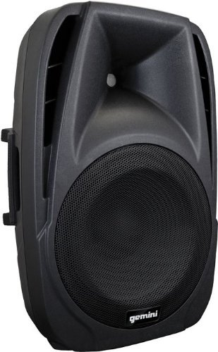Gemini DJ ES-12BLU Powered ABS Loudspeaker with Mp3 Player and Bluetooth
