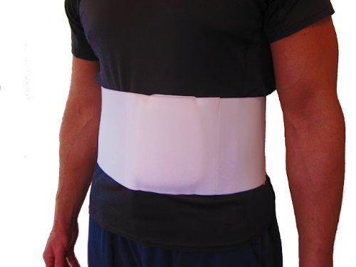 FlexaMed Hernia Belt / Truss (Umbilical Navel) - Large