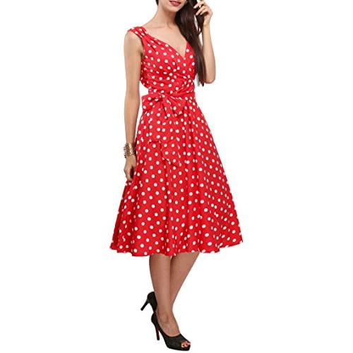 Best Womens Dress 40s 50s Swing Vintage Rockabilly Ladies Retro