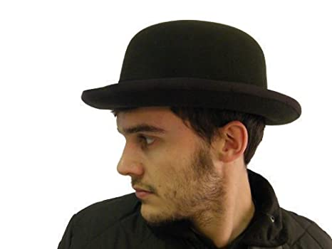 Campbell Cooper Best Quality Bowler Hat Formal - Black - Small (57cm or  7inches) 9ab2fd7e070