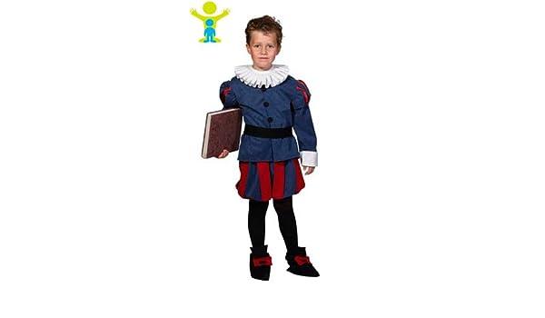 Disfraz de Paje Gola Infantil: Amazon.es: Juguetes y juegos