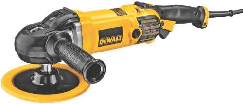 DEWALT Buffer Polisher, Variable Speed, Soft Start, 7-Inch 9-Inch DWP849X
