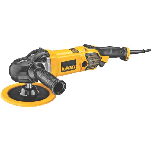 DEWALT Buffer Polisher, Variable Speed, Soft Start, 7-Inch 9-Inch DWP849X
