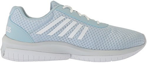 K-swiss Donna Tubi Infinity Cmf Cross Trainer Baby Blu / Bianco