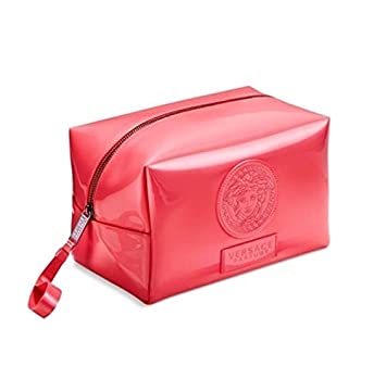 Versace Pink Cosmetic Pouch For Women Travel Case Make-up Bag   Amazon.co.uk  Beauty 260983f86d352