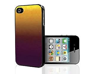 Yellow, Orange, Burgundy Ombre Gradient Hard Snap on Phone Case (iPhone 4/4s)