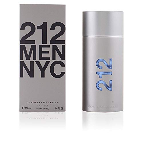 212 By Carolina Herrera For Men. Eau De Toilette Spray 3.4 Ounces ()