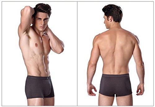 Sous 5 Boxers Underpants De vêtements Extensible Homme Caleçons Lot Ahatech Respirant Pour x7q4AFAwT