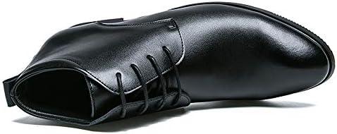 クラシックメンズファッションアンクルブーツカジュアルピュアカラーポインテッドトゥ英国スタイルハイトップブーツ(従来のオプション) 快適な男性のために設計