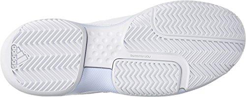 adidas  Women's Aspire Tennis Shoe, White/Aero Blue/White, 7.5 M US by adidas (Image #2)