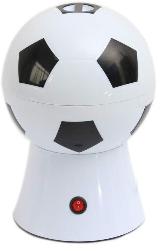 LXQ Máquina de Palomitas eléctrica de Estilo de fútbol, máquina de Palomitas doméstica DIY, Robot de Cocina para Padres y niños, máquina de Palomitas de Aire Caliente automática: Amazon.es