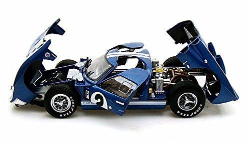 1966-ford-gt-40-mk-ii-2-blue-w-white-stripes-shelby-sc401-1-18-scale-diecast-model-toy-car