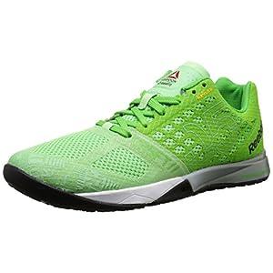 Reebok Women's Crossfit Nano 5.0 Training Shoe, Seafoam Green/Bright Green/White/Tin Grey/Black/Shark, 9 M US