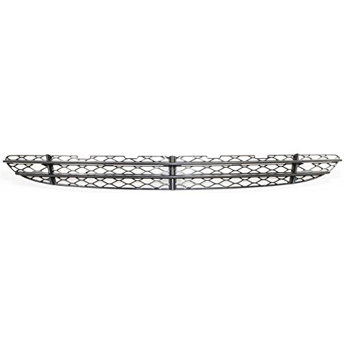 Bumper Grille compatible with Mercedes Benz S-Class 03-06 Front Center (220) Chassis