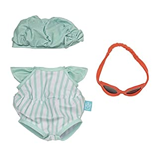 """Manhattan Toy Baby Stella Pool Party Baby Doll Clothes for 15"""" Dolls"""