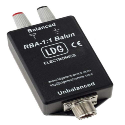 LDG RBA-1:1 Balun: 1:1, Current, 200W