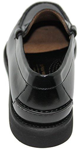 Color Shoes Zapato Calidad George´s de Máxima a Cosido Mallorca; Mano Mocasín Negro 1636 Inca Piel EN HwdxEq6
